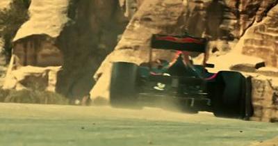 Un road trip en Jordanie, oui, mais en Formule 1 alors!