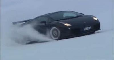 La Lamborghini Gallardo, remonte pente ultime