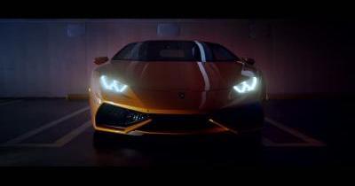 Teaser de la nouvelle Lamborghini Huracan
