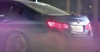Clip rock n'roll pour les 30 ans de la BMW M5