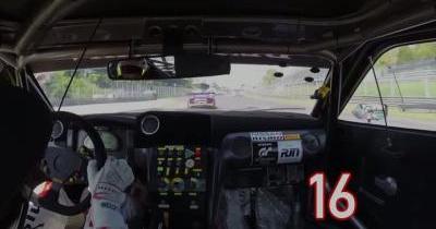 17 dépassements en un tour à Monza pour cette Nissan GT-R !