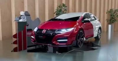 La Honda Civic Type-R se dévoile en grande partie en vidéo