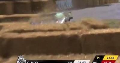 Une Nissan GT-R Nismo crashée à Goodwood