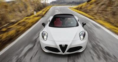Première vidéo officielle de l'Alfa Romeo 4C Spider