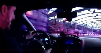 Ken Block improvise un Gymkhana au volant de la nouvelle Ford focus RS
