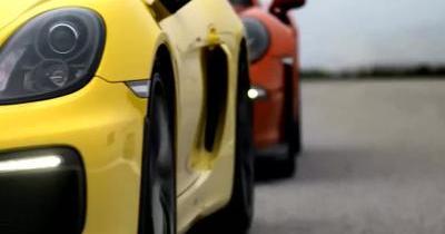 Les Porsche 911 GT3 RS et Cayman GT4 réunies le temps d'une sortie circuit