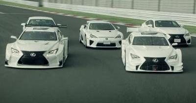 Drift et musique classique pour la gamme haute performance de Lexus