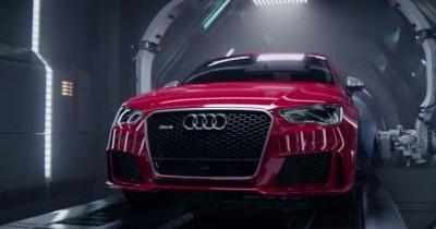 Splendide : quand Audi filme l'accouchement de sa R8