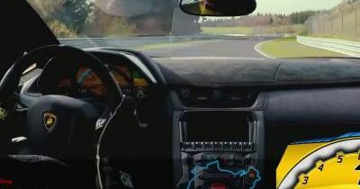 Vivez un tour du Nürburgring en Lamborghini Aventador LP750-4 Super Veloce