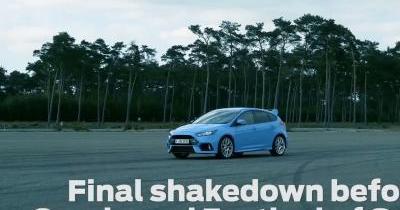 La Ford Focus RS se dégourdit les pneus avant Goodwood