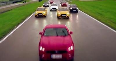 Ford déploie 1 495 ch cumulés sur le circuit de la Ferté-Gaucher