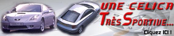 Celica Toyota Sport... très sport !