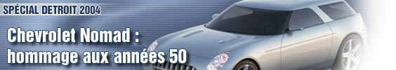 Chevrolet Nomad : hommage aux années 50