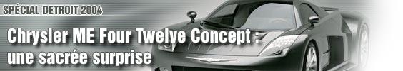 Chrysler ME Four Twelve : une sacrée surprise