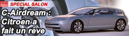 C-Airdream : Citroën a fait un rêve