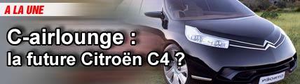 Citroën C-airlounge : des solutions d'avenir