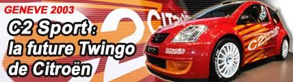 C2 Sport : la future Twingo de Citroën