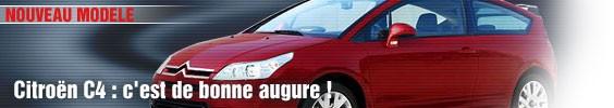 Citroën C4 : c'est de bonne augure !
