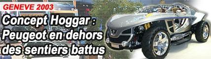 Concept Hoggar : Peugeot en dehors des sentiers battus
