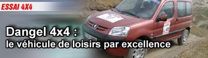Essai/ Dangel 4x4: le véhicule de loisir par excellence