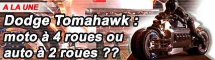Dodge Tomahawk : moto à 4 roues ou auto à 2 roues ?