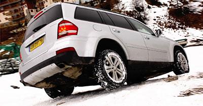 Essai express Mercedes GL 420 CDI : remonte pente