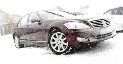 Essai Mercedes S 320 CDI 4 MATIC : étoile des neiges…