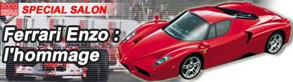 Ferrari Enzo: l'hommage