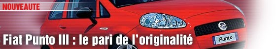 Fiat Grande Punto : le pari de l'originalité