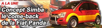 Simba : le come-back de la Fiat Panda