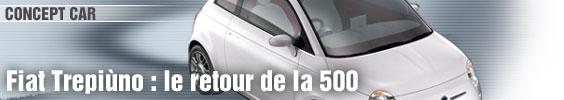 Fiat Trepiùno : le retour de la 500