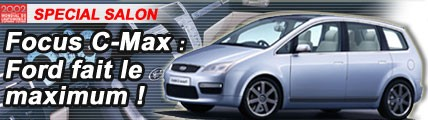 Focus C-Max : Ford fait le maximum