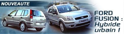 Ford Fusion : hybride urbain