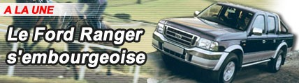 Le Ford Ranger s'embourgeoise