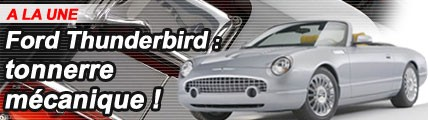 Ford Thunderbird Supercharged : tonnerre mécanique