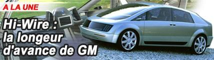 Hy-Wire la longueur d'avance de General Motors