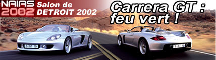 Carrera GT, l'exception