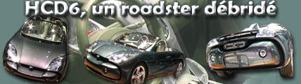 HCD6, un roadster débridé