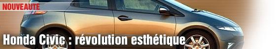 Nouvelle Honda Civic : révolution esthétique