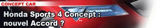 Honda Sports 4 Concept : nouvel Accord ?