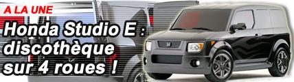 Honda Studio E : discothèque sur 4 roues