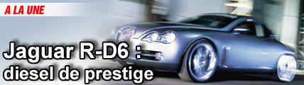 Jaguar R-D6 : diesel de prestige