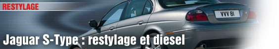 Jaguar S-Type : restylage et diesel