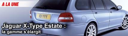 Jaguar X-Type Estate : la gamme s'élargit