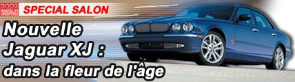Nouvelle Jaguar XJ : dans la fleur de l'âge