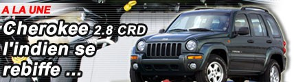Jeep Cherokee 2.8 CRD : l'indien se rebiffe