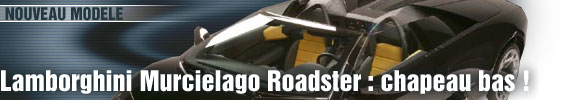 Lamborghini Murcielago Roadster : chapeau bas !