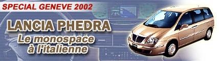 Lancia Phedra, le monospace à l'italienne