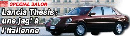 Lancia Thesis, une Jaguar à l'italienne