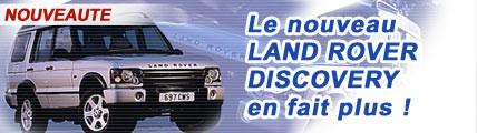 Le nouveau Land Rover Discovery en fait plus